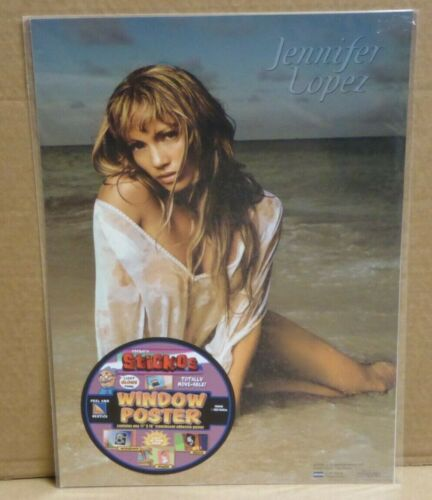 Jennifer Lopez Sticos adhesive 16 x 11 Window Poster NEW NuVista 2002