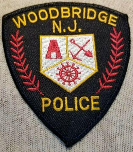 NJ Woodbridge New Jersey Police Patch