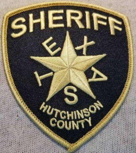 TX Hutchinson County Texas Sheriff Patch