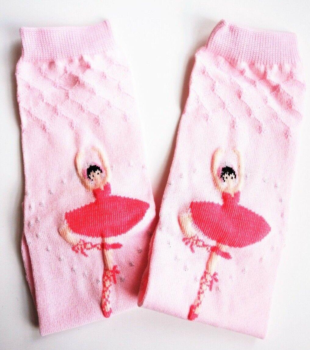 Baby Legs BALLERINA Ballett rosa Mädchen Stulpen Kinder Tragetuch Socken Tutu