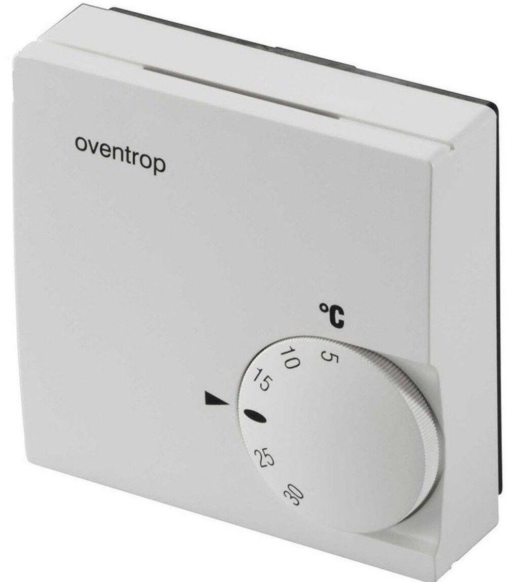 Oventrop Raumthermostat 230V Fußbodenheizung Aufputz Thermostat Bodenheizung