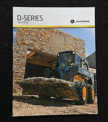 2010 John Deere 318 320 326 328 332 Skid Steer Loader Tractor Brochure Mint
