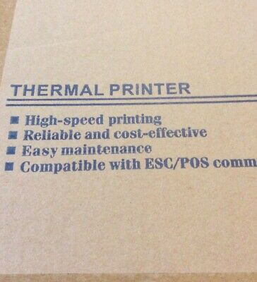 Thermal Receipt Printer Model Pos-5890g 58mmpower Adapter .usb Cable