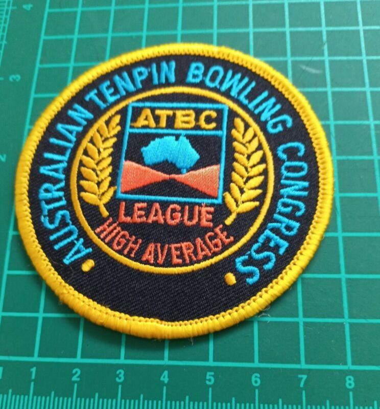 Australian Tenpin Bowling Congress League High Average Badge