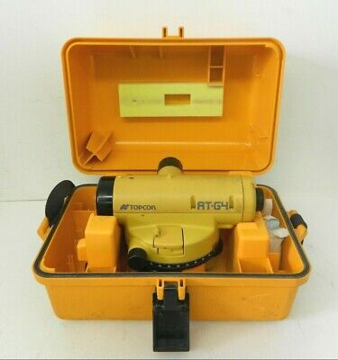 Topcon At-g4 Automatic Level Surveying Equipment