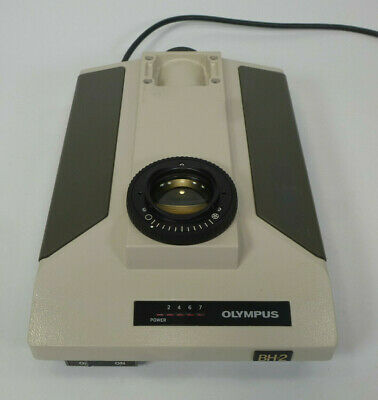 Olympus Bh2 Microscope Base Power Supply Voltmeter - Lamp Light Source