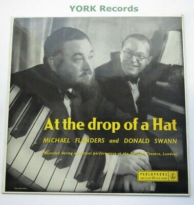 FLANDERS & SWANN - At The Drop Of A Hat - Ex Con LP Record Parlophone PMC 1033