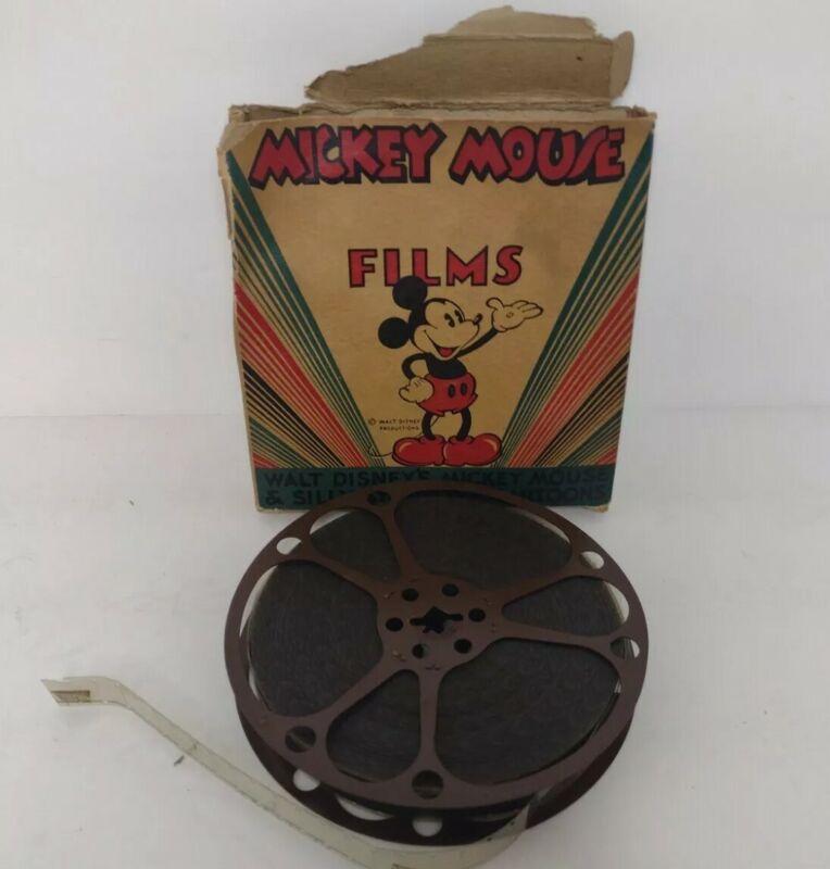 "Vintage 8mm Film Walt Disney ""The Dizzy Pilot""  Mickey Mouse Films"