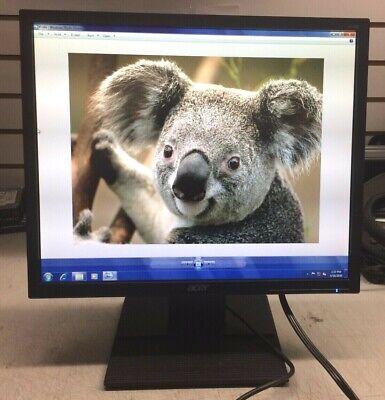 "Acer V196L 19"" 1280x1024 LED-Backlit Widescreen LCD Monitor"