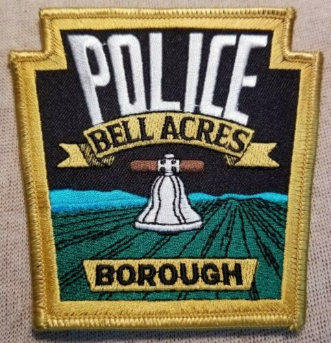PA Bell Acres Pennsylvania Police Patch