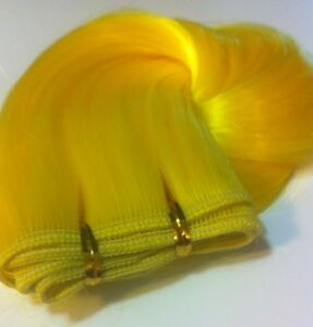 Yellow Hair Extensions 6