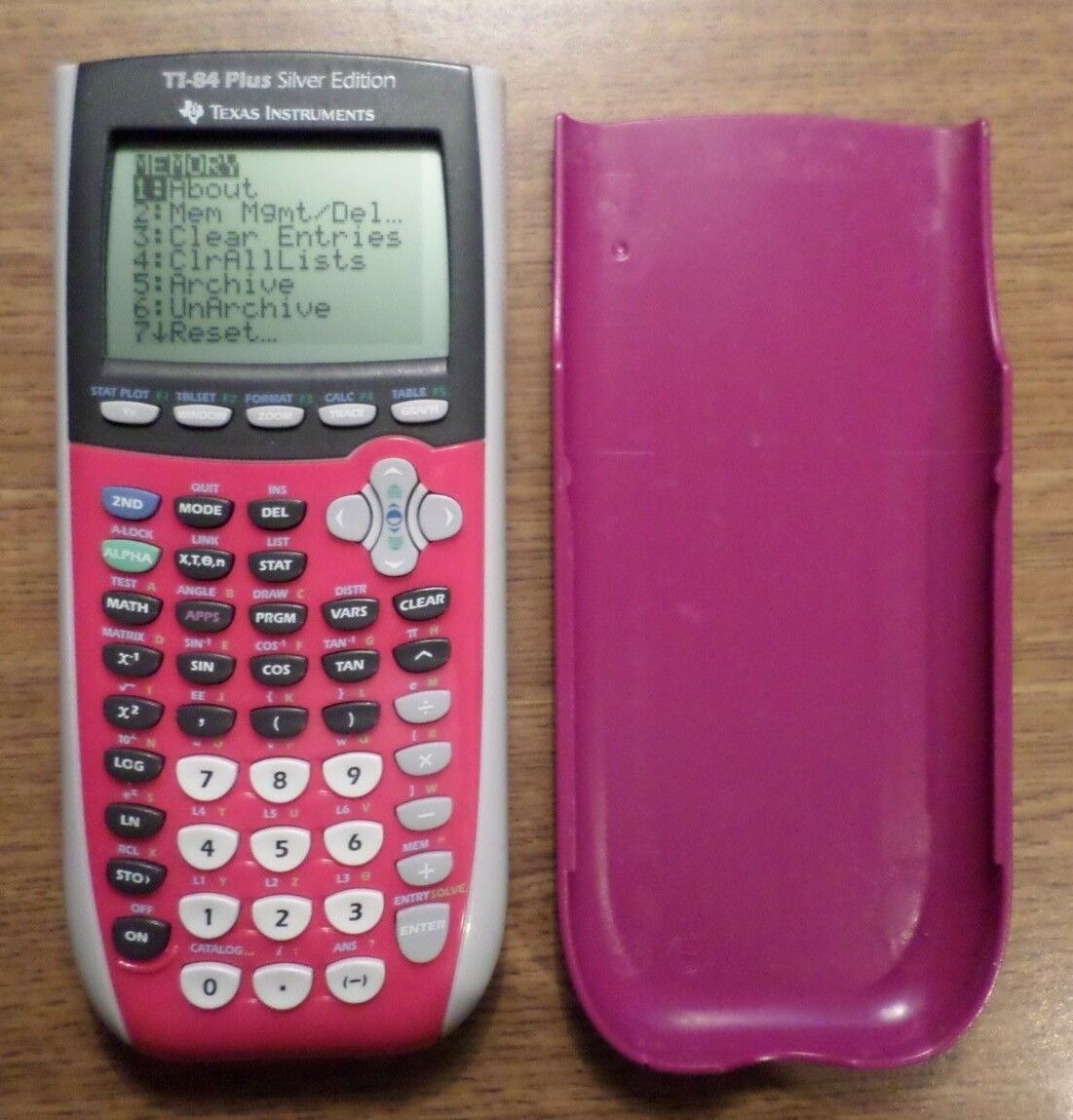 Texas Instruments TI-84 Plus Silver Edition Graphing Calculator 0311