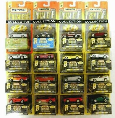 Lot of 16 NIP Matchbox Premiere Collection Diecast