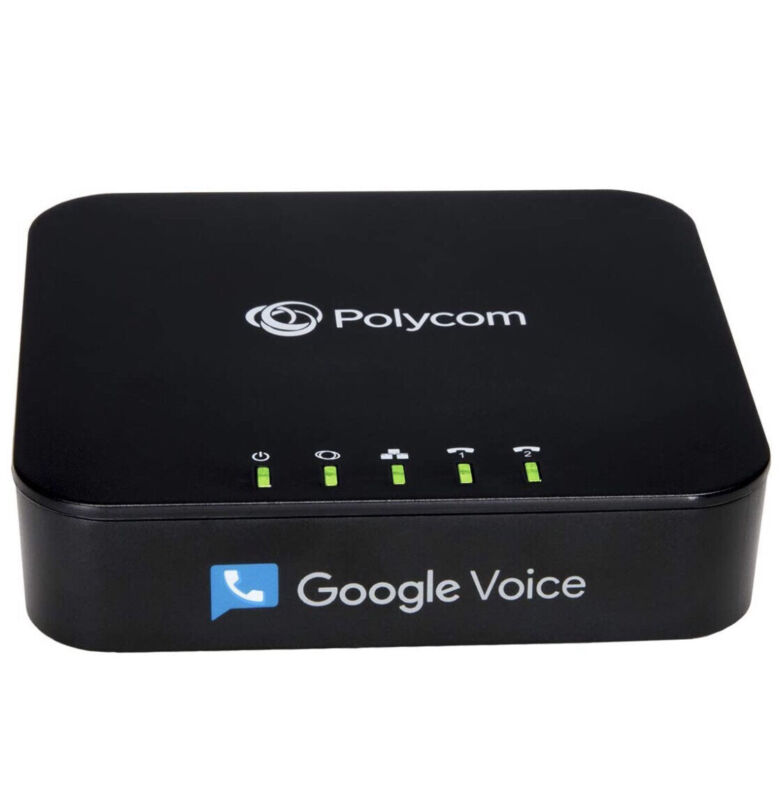 Polycom OBi202 2-Port VoIP Phone Adapter w/ Google Voice and Fax Support SNK NIB