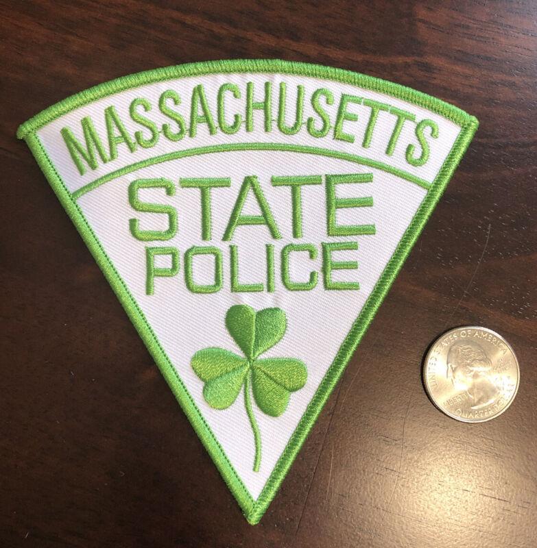 Massachusetts State Police Shamrock St. Patrick's Day Patch Irish Police