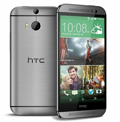 HTC One M8 Gray - At&t Smartphone 6256A - Tested Works Great