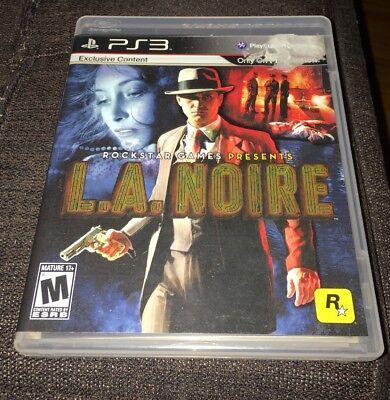 LA Noire Rockstar Games 2009 PS3 2011 For PlayStation 3 for sale  Chicago