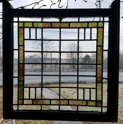 ANTIQUE ORIGINAL STAINED GLASS WINDOW,  SCRANTON GOTHIC TUDOR MANSION,  (Scranton Glass)