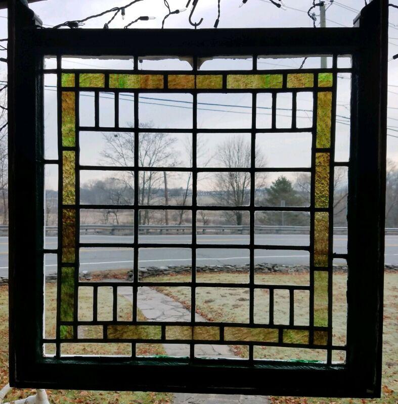 ANTIQUE ORIGINAL STAINED GLASS WINDOW,  SCRANTON GOTHIC TUDOR MANSION,  1800s