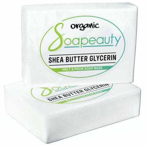 SHEA BUTTER GLYCERIN MELT & POUR SOAP BASE 100 % PURE 5 LB