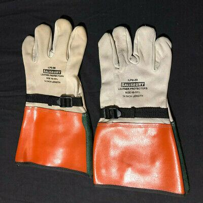 Salisbury Honeywell Ilp-5s Leather Protectors Glove Cowhide 14 Size 10-10 12