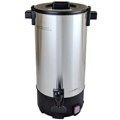 New Stainless Steel 45 Cup 950 W Commercial Coffee Maker Urn Percolator C