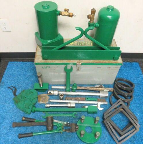 Chlorine Institute model-5717 Emergency Kit C Parts List Included