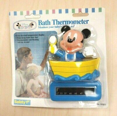 Vintage Safety 1st Infant Child Disney Mickey Mouse Boat Bat
