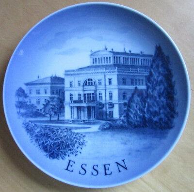 Royal Copenhagen Wandteller Essen Motiv II - 1976 Villa Hügel