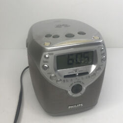 Philips Magnavox AJ3950 Gentle Wake Dual Alarm Clock CD Player Radio