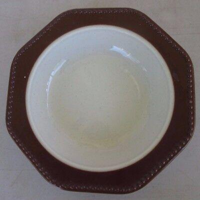 Heritage Designs Amber Mist Rim Soup Bowl Mist Rim