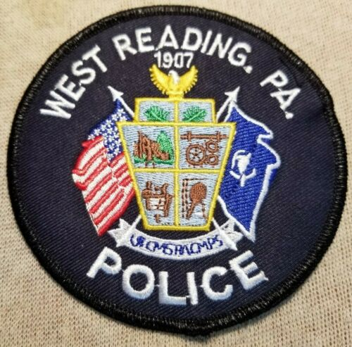 PA West Reading Borough Pennsylvania Police Patch