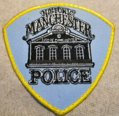 MO Manchester Missouri Police Patch