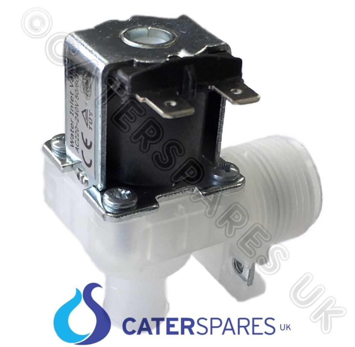 POLAR AA265 WATER INLET SOLENOID VALVE ICE MACHINE MAKER T316 T317 MODEL ZB20