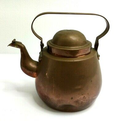 Antique Copper Kettle 1.5 Litre