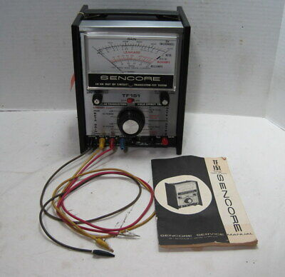 Sencore Model Tf151 In-out Circuit Transistor Tester