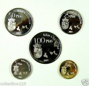 ISLAS-CHAFARINAS-Coins-Set-of-5-Pieces-2014-UNC