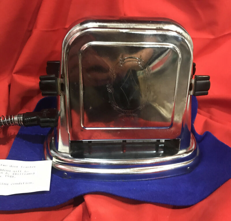 Vintage Bersted Electric Toaster Model 71 Working