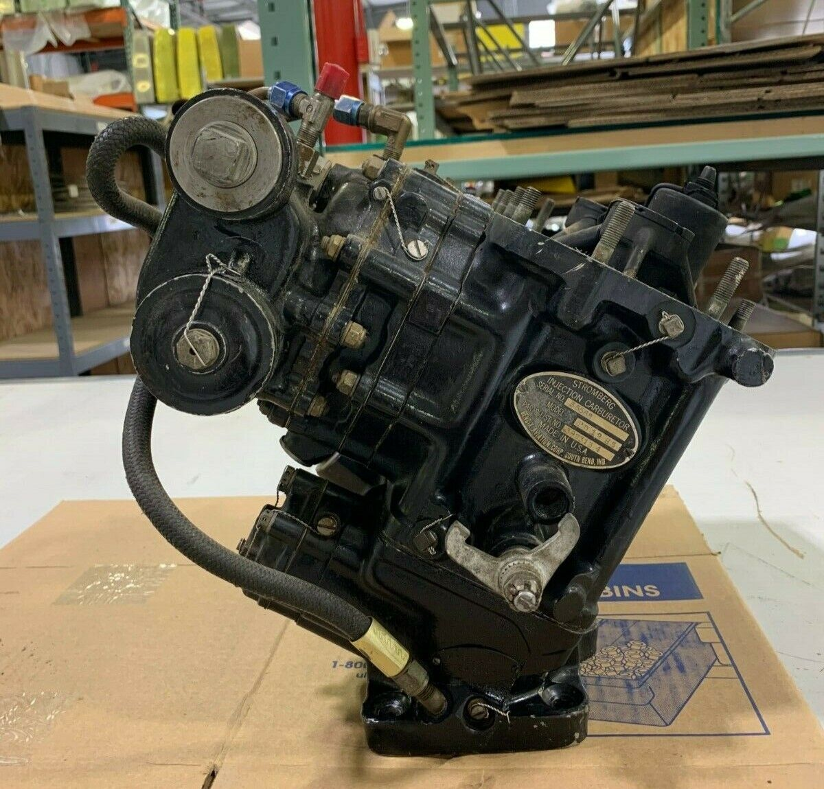 PD12-H3 Bendix Stromberg Injection Carburetor (CORE)