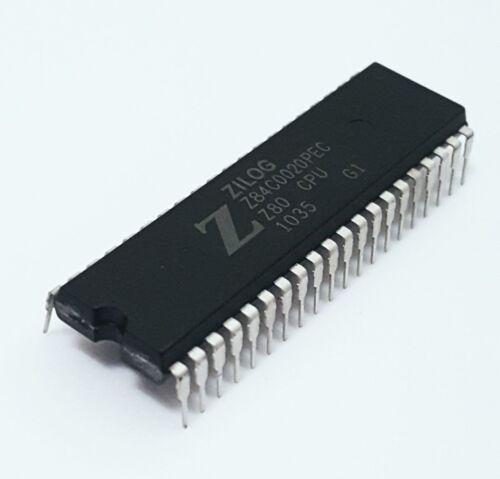 Zilog Z80 CPU 20MHz Z84C0020PEC DIP