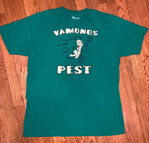 Vamanos Pest Bug Running  Logo Breaking Bad  Mens T-Shirt