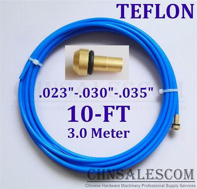 Ptfe Liner 10-ft Mig Welding Guns Wire Size 0.023-0.030-0.035 Mi Tw Li Bule