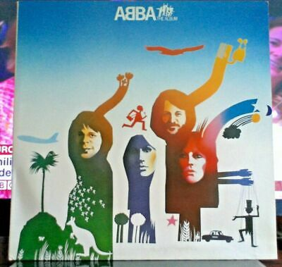 "💿 VINTAGE VINYL LTD EDITION ""THE ALBUM"" by ABBA Gatefold Sleeve CBS DEMO COPY!!"