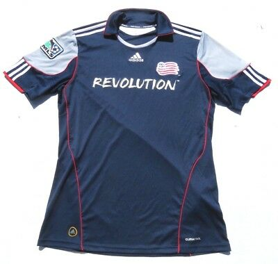 7e62de1a6dab Mens ADIDAS Revolution MLS Climacool Authentic Soccer Jersey Shirt Large