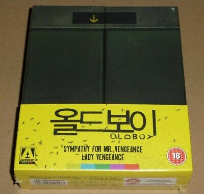 Oldboy : Limited Edition Boxset, Blu-ray 4 Disc, Vengeance Trilogy, In Stock