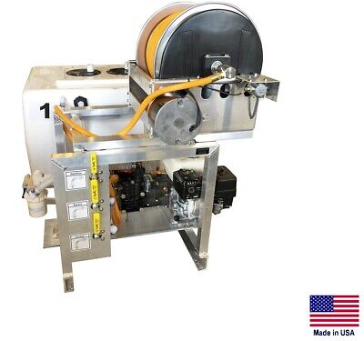 Sprayer Commercial - Skid Mounted - 9.5 Gpm - 580 Psi - 5050 Gal Split Tank