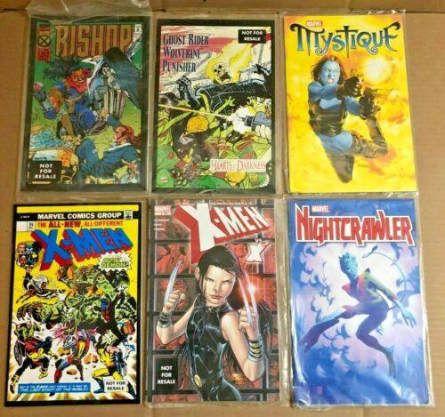 Marvel Legends Toy Biz X-Men Lot of 6 Comic Reprints ~