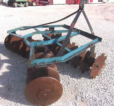 Used King Kutter 6 Ft.---- 3 Pt. Lift Disc Harrow We Can Ship Cheap And Fast