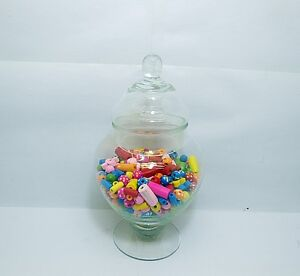 4X Wedding Event Lolly Candy Buffet Apothecary Jar 20cm