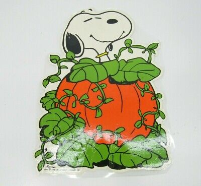 VTG 1958 Snoopy Great Pumpkin Halloween Die Cut Peanuts Hallmark Paper Cutout